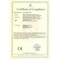 Wuxi WERT Artificial Turf Co., Ltd. Certifications
