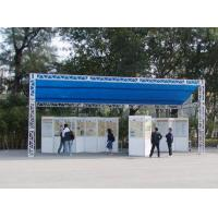 Quality Small Aluminum Stage Light Truss System For Roadside Exhibition for sale