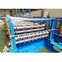 Quality Three Layers Roof Roll Forming Machine , Wall Panel Roll Forming Machine for sale