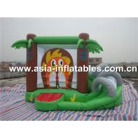 Quality super hero mini indoor combo inflatable bouncer combo for sale