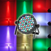 Quality Cool White 54pcs*3W RGBW Plastic Material LED Par Can Lights 1 year Warranty for sale