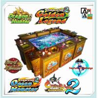 Quality 8P ocean king 2 monster revenge inkfish arcade casino gambling fishing video game machine for sale
