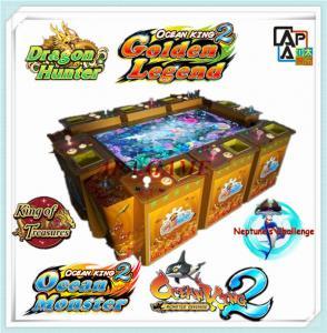 Quality 8P ocean king 2 monster revenge inkfish arcade casino gambling fishing video game machine for sale