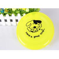 Buy OEM Pets Products Plastic Dog Frisbee , Dedicated Pet Toys Big Dogs Bite at wholesale prices