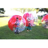 Quality Body Zorbing Bubble Ball , Bouncing Inflatable Human Bumper Ball for sale