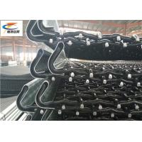 China High Tensile Heavy Duty Steel Mesh , Lock Crimp Mining Screen Mesh With Hook on sale
