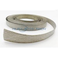 Buy Metal Cable Shielding Sleeve , Automotive Braided Wire Loom Flame Retardant at wholesale prices