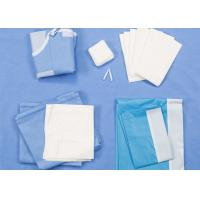 Quality Disposable Surgical Packs Delivery Baby Birth Kit SMS / Two Layers Lamination for sale