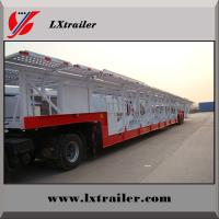 China 12 Vehicle Large Capacity Car Transporter Trailer car carrier trailer on sale