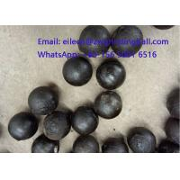 Quality High Chrome Cr 10% Cast Iron Steeel Balls for mining grinding for sale