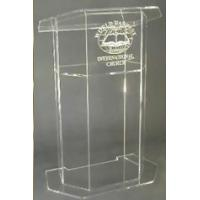 Quality Manufacturer supplies acrylic lectern for sale
