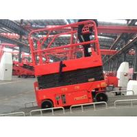 Quality Mininature Rough Terrain Scissor Lift Steel With 6m Lifting Height for sale
