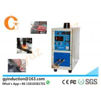 Quality Low Price High Frequency Industrial Induction Heater 15KW For Brazing Forging Melting for sale