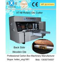Quality Corrugated Carton Packaging Machine Chain Feeder Rotary Roller Die-Cutting Machine for sale