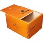 Quality wooden cigar boxes 25pcs cigarette packaging plain type for sale