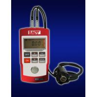 Buy cheap 4 digits LCD Handheld Ultrasonic Thickness Gauge SA40+ with normal and multiple echo(MEC)  mode in red or blue color from wholesalers