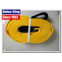 Quality Polyester Tow Truck Straps Without Hooks , Car Recovery Straps Flexible for sale