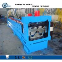China PLC Hydraulic Automatic Galvanized Rolling Form Line / Metal Ridge Cap Forming Equipment on sale