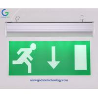 China Emergency Lighting Products Emergency Exit Sign GS-ES10 with 800mAh Ni-Cd Battery for Emergency Using on sale
