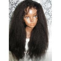 Buy 100% Real Brazilian Hair Lace Front Wigs , Virgin Front Lace Wigs For Black Women at wholesale prices
