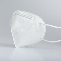 Quality 4 Ply Flat Non Irritating Gauze Cotton KN95 Folding Dust Masks for sale