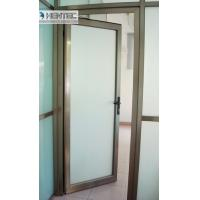 Buy cheap Customized 6063-t6 Aluminium Door Profiles Powder Coating or Bronze from wholesalers