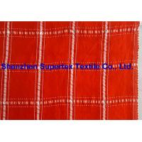 Quality Plaid Design Cupro Viscose Polyester Yarn Dyed Shirt Fabric for sale