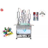 Quality 450ml Aerosol Spray Paint Filling Machine for sale