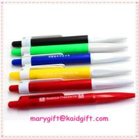 China promotion plastic ball point pen on sale