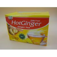 Quality Soft Honey Tea Ginger Instant Drink Powder Particle Calorie Free 10 G * 20 Pcs for sale