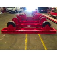 China Economic Capacity 30 Tons Pipe Rotator Welding Use Polyurethane Material Wheels for sale
