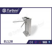 Quality Commercial Access Control Waist High Turnstile Semi - Auto Waterproof Stable for sale