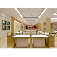 Quality Pre - Assembly Structure Jewelry Display Fixtures 6000 Lumen / 4000 Kelvin Lights for sale