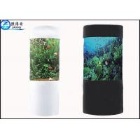 Buy Cylindrical Acrylic Aquarium Custom Fish Tanks With Super Translucent Material at wholesale prices