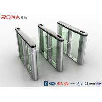 Quality RFID Reader Turnstile Access Control System Speed Gate 30~40 Persons / Min for sale