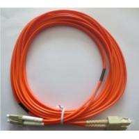 Buy High Precision Fiber Optic Patch Cord Multimode Duplex SC-LC at wholesale prices