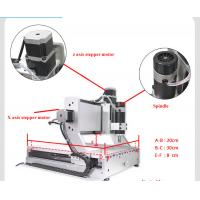 Quality mini 3020 200w cnc router with rotary axis for sale