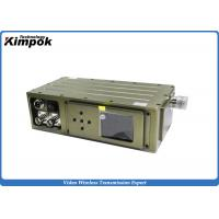 Quality Military COFDM HD Video Transmitter 5W Surveillance Wireless RF Transmitter Encryped for sale