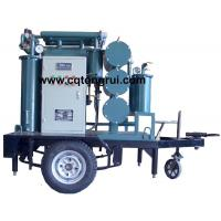 Quality Protable ZJL Dielectric Oil Purifier with Trailer,Insulating Oil Filtration machine for sale