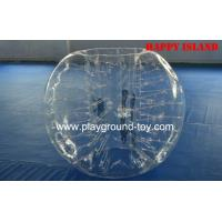 Quality Transparent Durable Kids Inflatable Bouncer Ball With Diameter 2M For Sport Games for sale