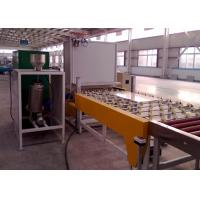 Quality CE Standard Auto Glass Powdering Glass Production Line Plc Control for sale