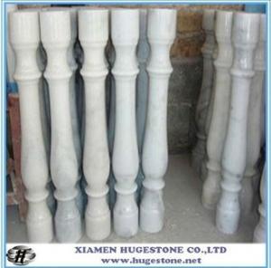 Quality Gate pillar design, roman pillar,  white Stair railing for sale