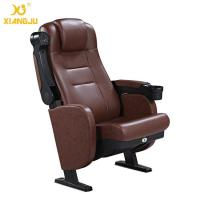 Quality Great Lumbar Support Comfort Head Cushion Movie Theatre Chairs With Cupholder for sale