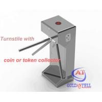 Quality Half Height Coin or Token Operated turnstile entrance gates for Swimming Pool Entrance for sale