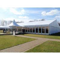 Quality Glass Wall Clearspan Structure Large Wedding Tents 25x25m Large Party Carpas for sale