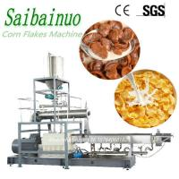 China Kellogg's Breakfast Cereals Manufacturing Machinery Plant Corn Flakes Processing Line on sale