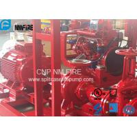 Quality UL FM Approved Electric Motor Driven Fire Pump With Split Case Fire Pump 500USGPM / 10 Bar for sale