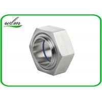Quality ISO2853 Hygienic Stainless Steel Union Couplings Hexagon Nut Type 1 Inch-4 Inch Size for sale