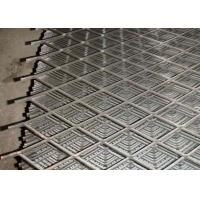 Buy 2mm Thickness Expanded Wire Mesh , Highway Fencing Expanding Mesh Sheets at wholesale prices