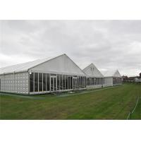 Quality Modern Design Clearspan Structure Outdoor Event Glass Wall Tents For Party Reception for sale